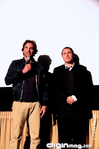 Mr. Cooper and Mr. Russell at the Mill Valley Film Festival last fall.