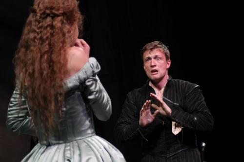 Hamlet and Ophelia.